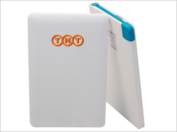 Credit Card Power Bank With Company Logo